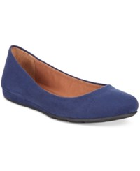 American Rag Ellie Flats Only At Macy's Women's Shoes Sailor Blue