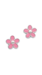 Marc By Marc Jacobs Daisy Stud Earrings Bright Rose