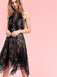 Acler Burtan High Low Lace Dress By