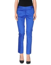 Fabrizio Lenzi Trousers Casual Trousers Women Blue