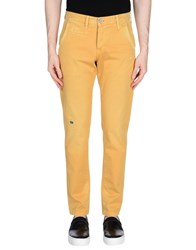 0 Zero Construction Casual Pants Yellow