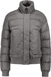Add Quilted Shell Jacket Gray