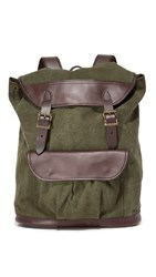Filson Rugged Canvas Rucksack Otter Green