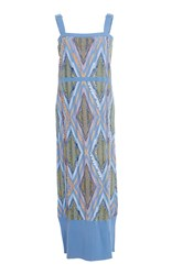 Barrie Patterned Cashmere Dress Multi