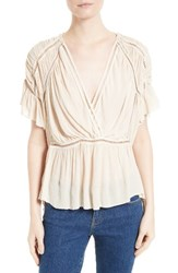 Iro Women's Lesly Surplice Blouse