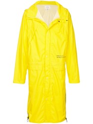 Makavelic Mot Long Raincoat Yellow
