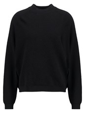 Just Female Remark Jumper Black