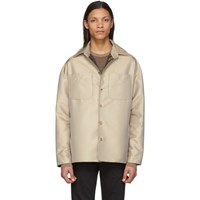 Fendi Beige Field Jacket