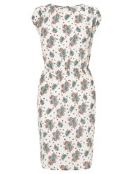 John Lewis Collection Weekend By Dotty Summer Floral Dress White Multi