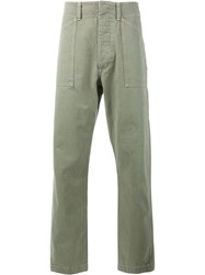 Wtaps Relaxed Fit Trousers Green