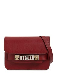 Proenza Schouler Ps11 Mini Grained Leather Shoulder Bag Dahlia