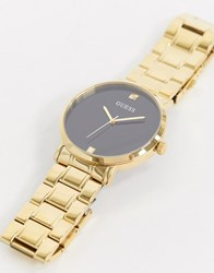 Guess Supernova Bracelet Watch In Gold