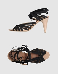 Acrobats Of God High Heeled Sandals Black
