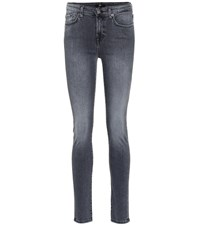 7 For All Mankind Pyper Skinny Jeans Grey