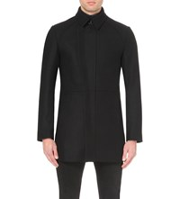 Reiss Alexanderson Wool Blend Jacket Black