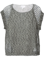 Lala Berlin 'Anthony' Knitted Top Black