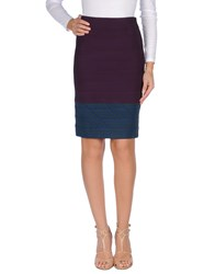 Boy By Band Of Outsiders Knee Length Skirts Purple