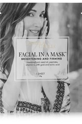 Angela Caglia Facial In A Mask Colorless
