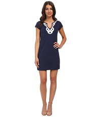 Lilly Pulitzer Brewster Dress True Navy Women's Dress