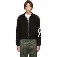 Enfants Riches Deprimes Black Logo Zip Jacket