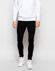 Pull And Bear Pullandbear Spray On Skinny Fit Jean Blue