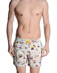 Europann Swimming Trunks Beige