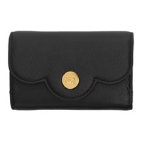 See By Chloe Black Compact Polina Wallet