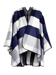 Wallis Navy Printed Wrap