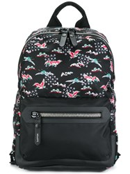 Lanvin Evolutive Cranes Print Backpack