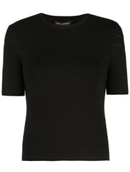 Narciso Rodriguez X The Conservatory Knit Top Black