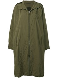 Y's Hooded Parka Green
