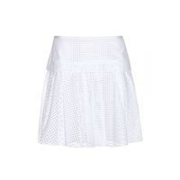 Rag And Bone Lakewood Perforated Cotton Skirt