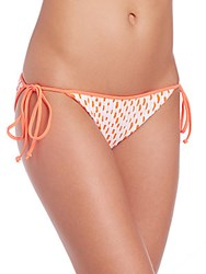 Milly Biarritz Bikini Bottom Neon Orange