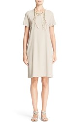 Fabiana Filippi Women's Stretch Cotton Poplin Dress