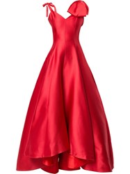 Bambah Ruby Princess Gown Red