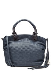 Henry Beguelin Woven Leather Tote With Tassel Gr. One Size