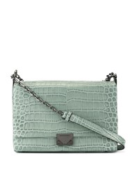 Emporio Armani Crocodile Effect Crossbody Bag 60
