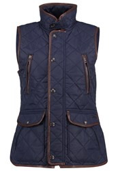 Polo Ralph Lauren Waistcoat Collection Navy Dark Blue