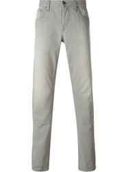 Gucci Straight Leg Jeans Grey