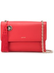 Lanvin Small Sugar Corssbody Bag Red