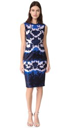 Yigal Azrouel Sleeveless Dress Baja Blue
