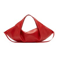 3.1 Phillip Lim Red Mini Luna Slouchy Hobo Tote