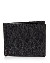 Bloomingdale's The Men's Store At Leather Wallet With Money Clip 100 Exclusive Black