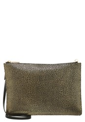 Whistles Clutch Gold