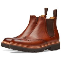 Grenson Arlo Commando Chelsea Boot Brown