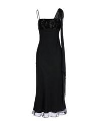 Carlo Pignatelli 3 4 Length Dresses Black