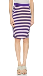 Endless Rose Striped Pencil Skirt