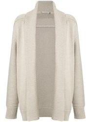 Vince Roll Neck Cardigan Women Cotton S Nude Neutrals
