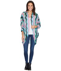 Rock And Roll Cowgirl 3 4 Sleeve Kimono B4 2525 Hot Pink Women's Clothing