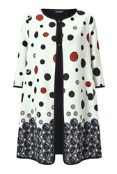 James Lakeland Print Occasion Trench Black